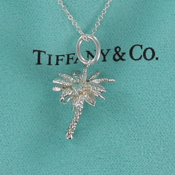 b35969802 Tiffany & Co. 925 Palm Tree Charm Pendant Necklace.  M_5a7b15c505f430a862c4ca30